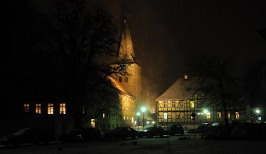 Photo: Kloster Wennigsen im Schneetreiben