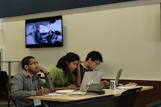 """Photo: Team """"Friends on the go"""" hard at work"""