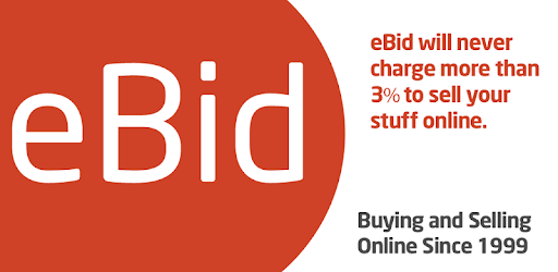 eBid is the low cost marketplace alternative with sale fees never higher than 3%