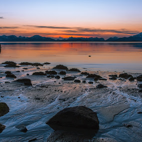 Vesterålen by Thomas Ebeltoft - Landscapes Sunsets & Sunrises ( water, canon, nature, sunset, norway )