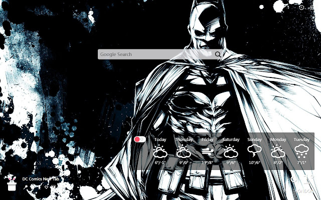 DC Comics New Tab, Wallpapers HD