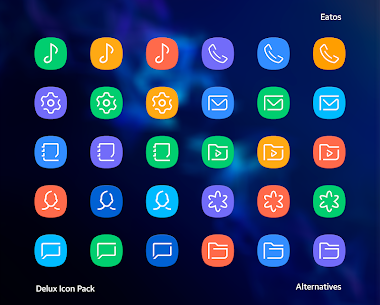 Delux – Icon Pack (MOD, Paid) v2.2.3 5
