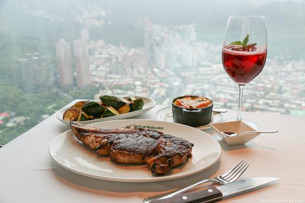 來自美國紐約經典牛排餐廳-亞洲首店就在微風南山47樓-鎮店之寶24盎司乾式熟成帶骨肋眼-Smith & Wollensky Taipei