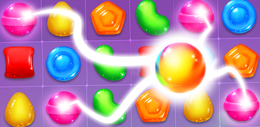 Sticky Candy Pop is a puzzle game! Blast candies to solve the puzzles!