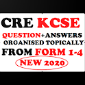CRE KCSE TOPICAL QUESTIONS + ANSWERS (FORM 1- 4) icon
