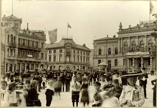 Photo: 17 mai 1914 Jernbanetorget
