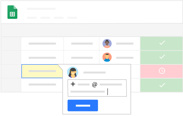 Collaborate using Google Sheets