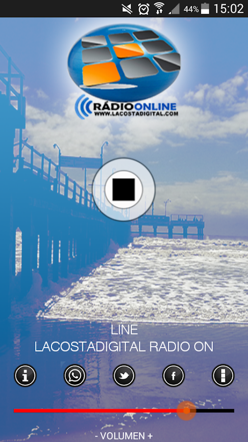 LA COSTA DIGITAL RADIO- screenshot
