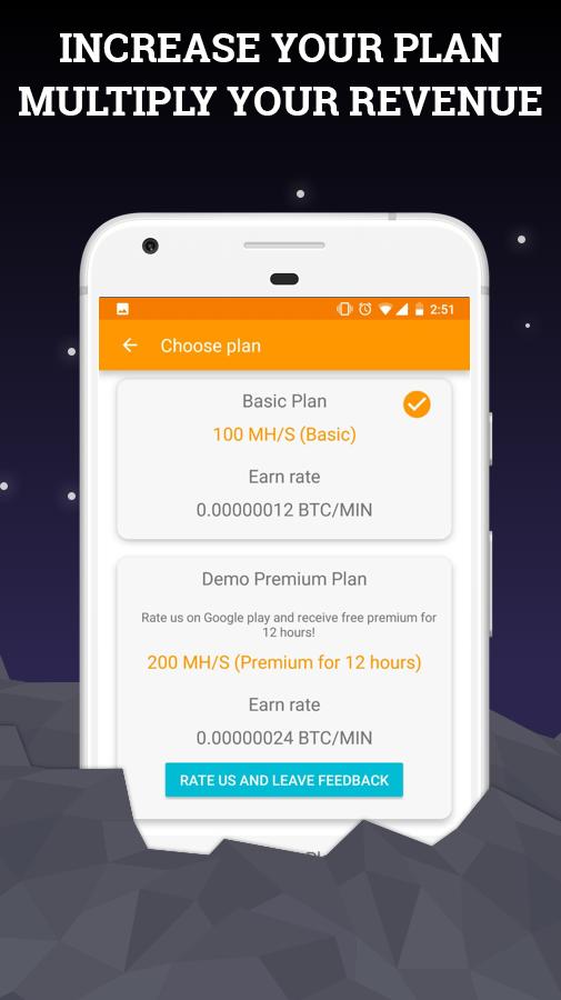 bitcoin premium gioco mineraria apk download gratuito
