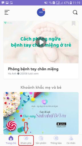 be-yeu-phat-trien-tinh-nang-moi-nhap-vao-de-kham-pha-ngay