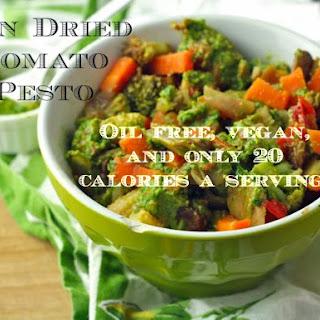 Sun Dried Tomato Pesto (Oil Free/Vegan/Low Fat/Paleo).