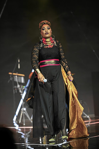 Lady Zamar says 'something odd' made her miss her flight. / Veli Nhlapo