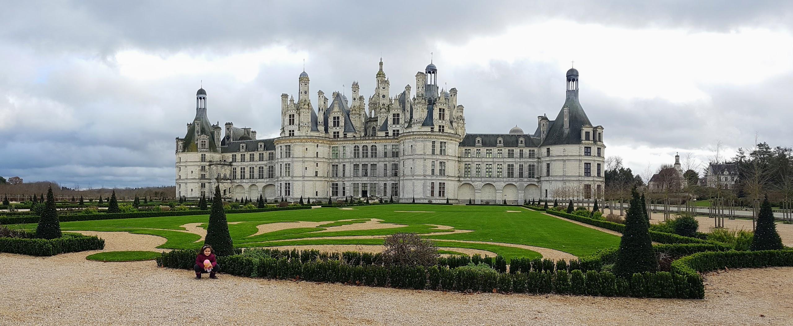 Castillos del Loira. Castillo de Chambord