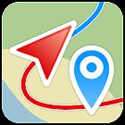 Геотрекер - GPS трекер icon