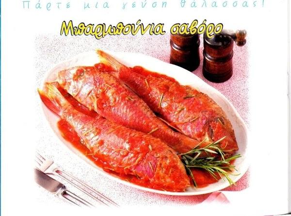 Red Mullet Savoro Recipe
