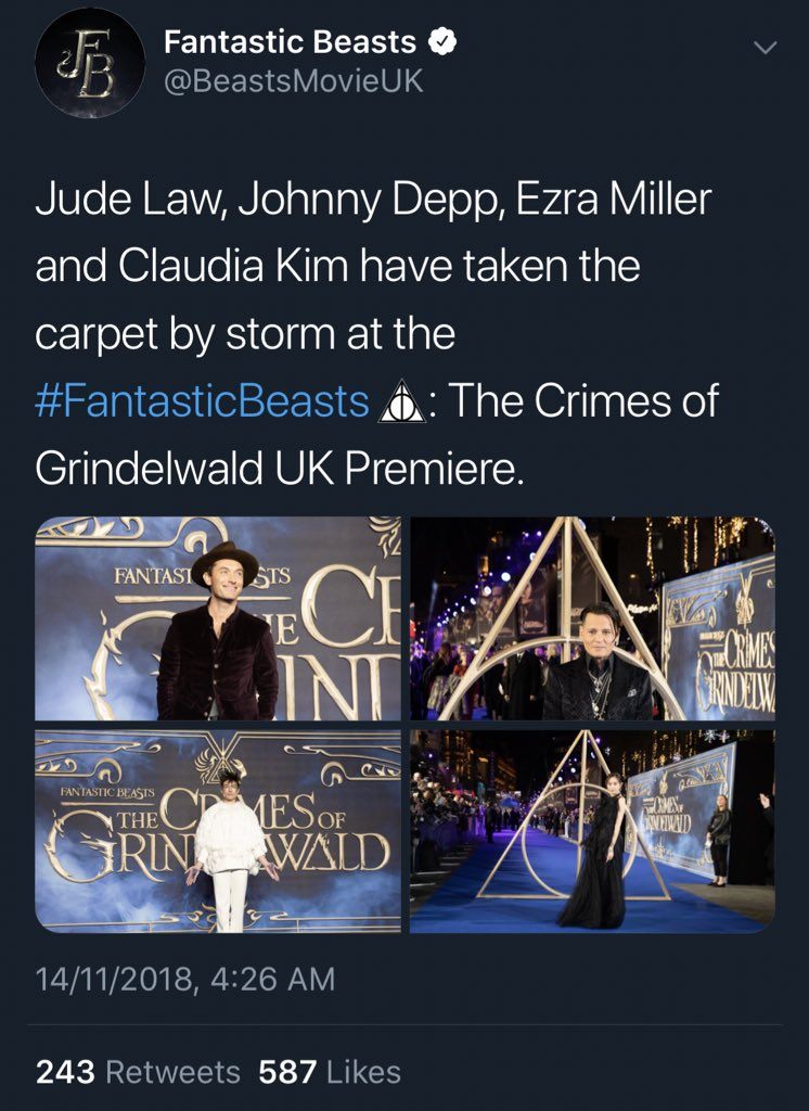 crimes of grindelwald claudia picture 1