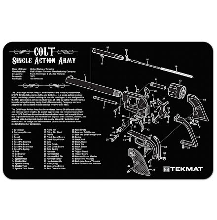 TekMat Colt Single Action Army Revolver