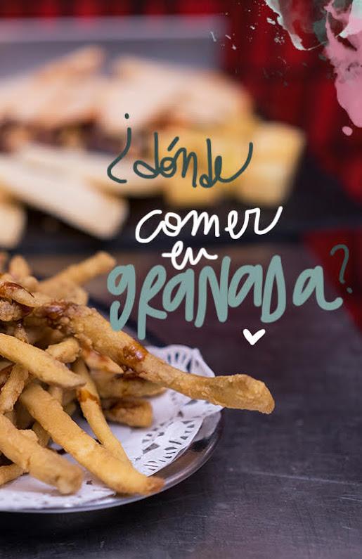 restaurantes donde comer en Granada