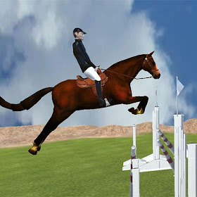 Steeplechase - Horse Jumping