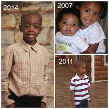 Photo: Montage for Keon's 8th birthday