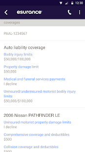 Esurance Mobile Screenshot 5