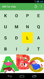 A game in ABC for kids - náhled