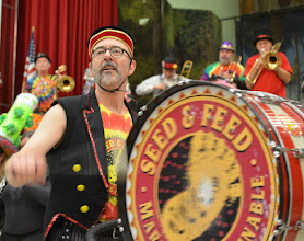 Photo: the Seed and Feed Marching Abominable Band