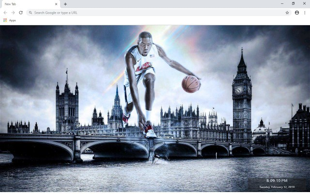 Kevin Durant New Tab & Wallpapers Collection