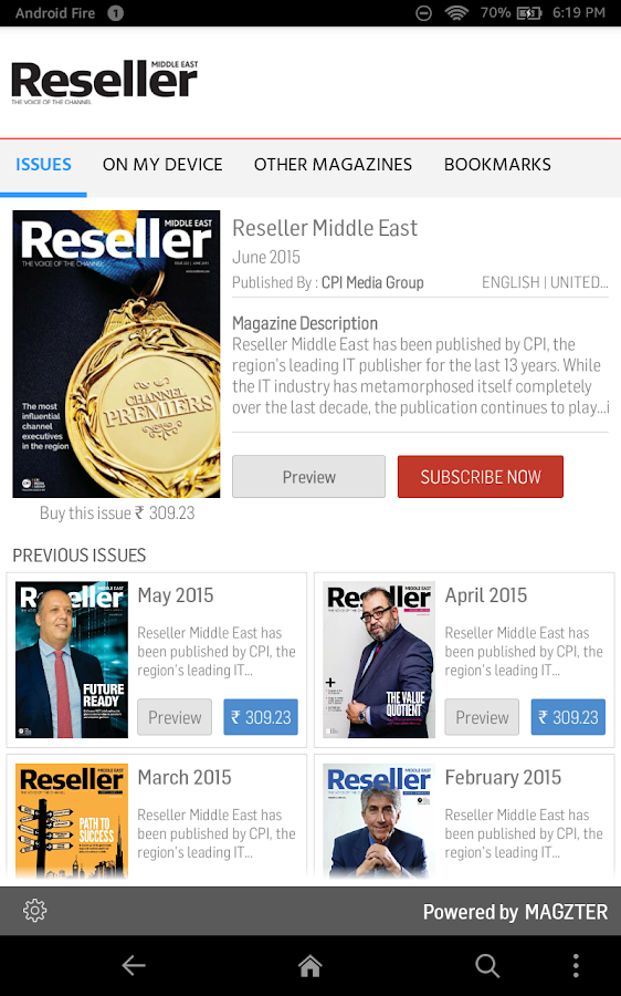 Reseller Middle East- screenshot