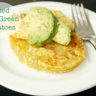Baked Fried Green Tomatoes.