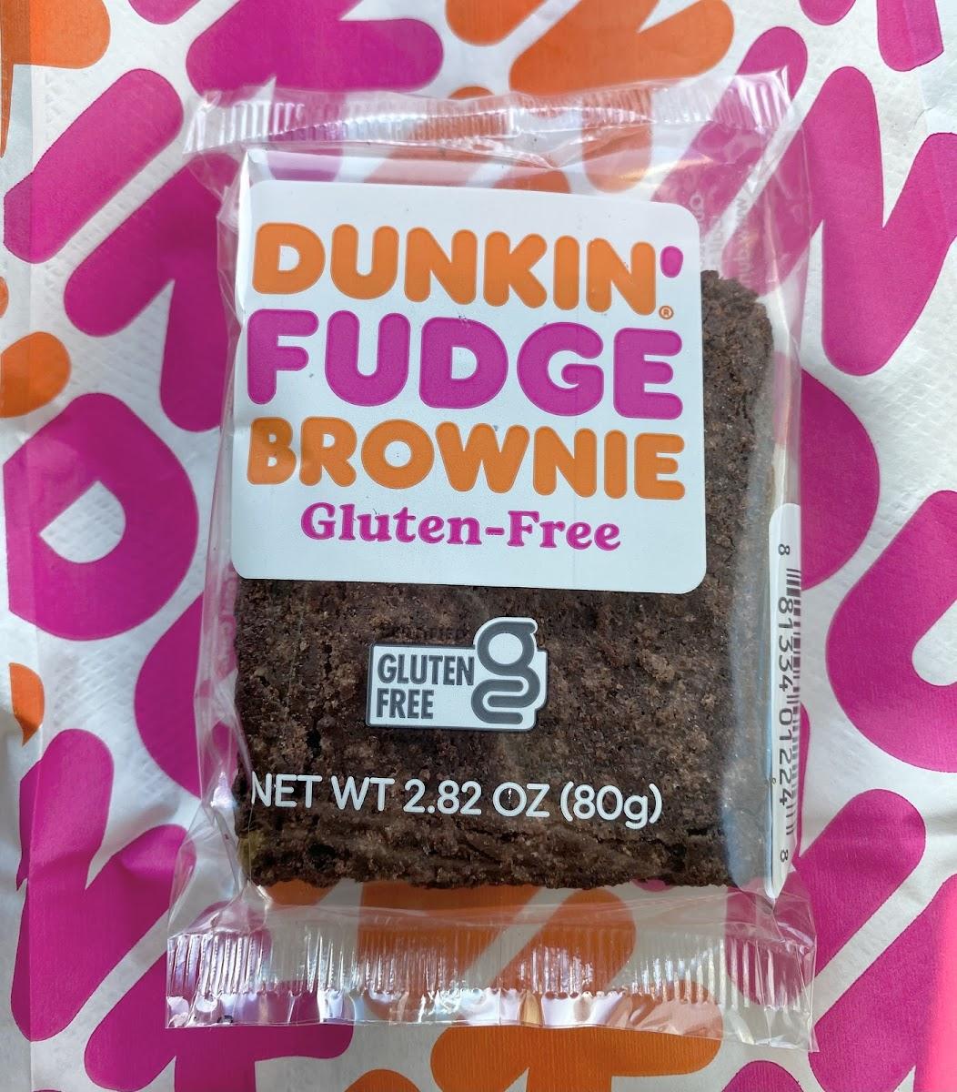 Gluten-Free Fudge Brownie