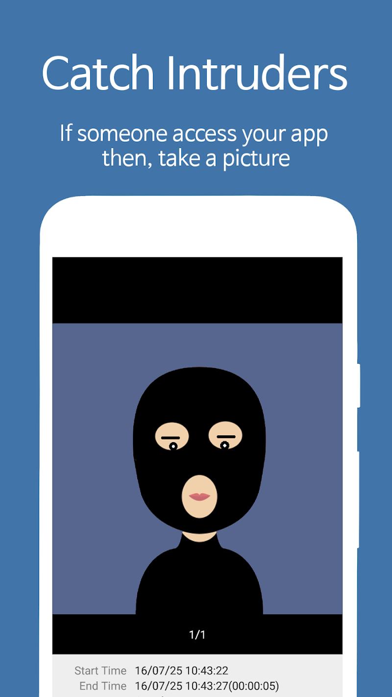 AppLock - Fingerprint Screenshot 1