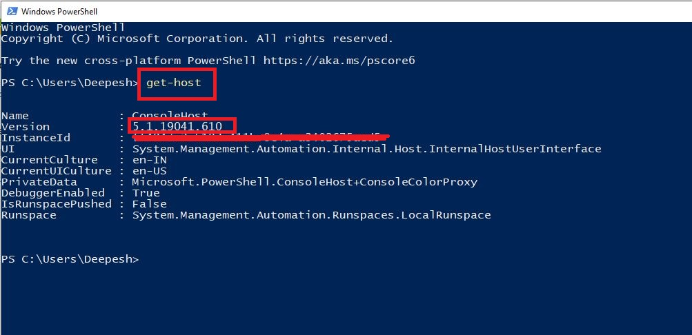 When you use the (Get-Host) version, you'll note that it returns a version number that appears to be the PowerShell engine version.