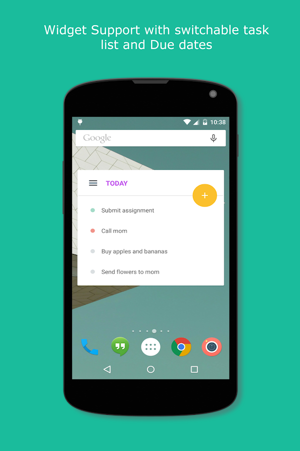 Tasks & To-do list - screenshot