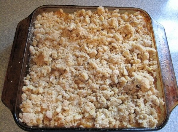 Sprinkle mixed topping over the casserole and bake at 350 degrees for 35 to...
