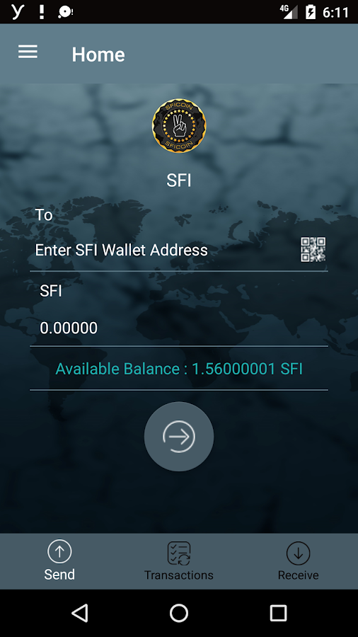 SFI Wallet- screenshot