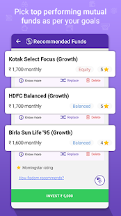 fisdom - Mutual Fund Investments App - náhled