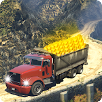 Off-Road Gold Truck Simulator-Transport Gold Mania icon