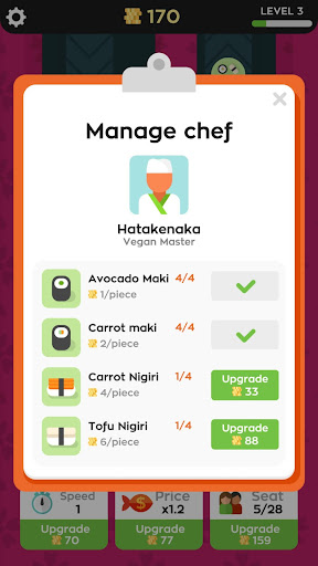 Sushi Bar Idle 2.6.3 Screenshots 3