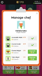 Sushi Bar Idle MOD (Unlimited Coins) 3
