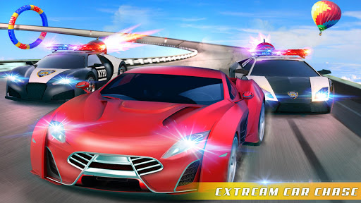 Police Car Chase GT Racing Stunt: Ramp Car Games android2mod screenshots 13