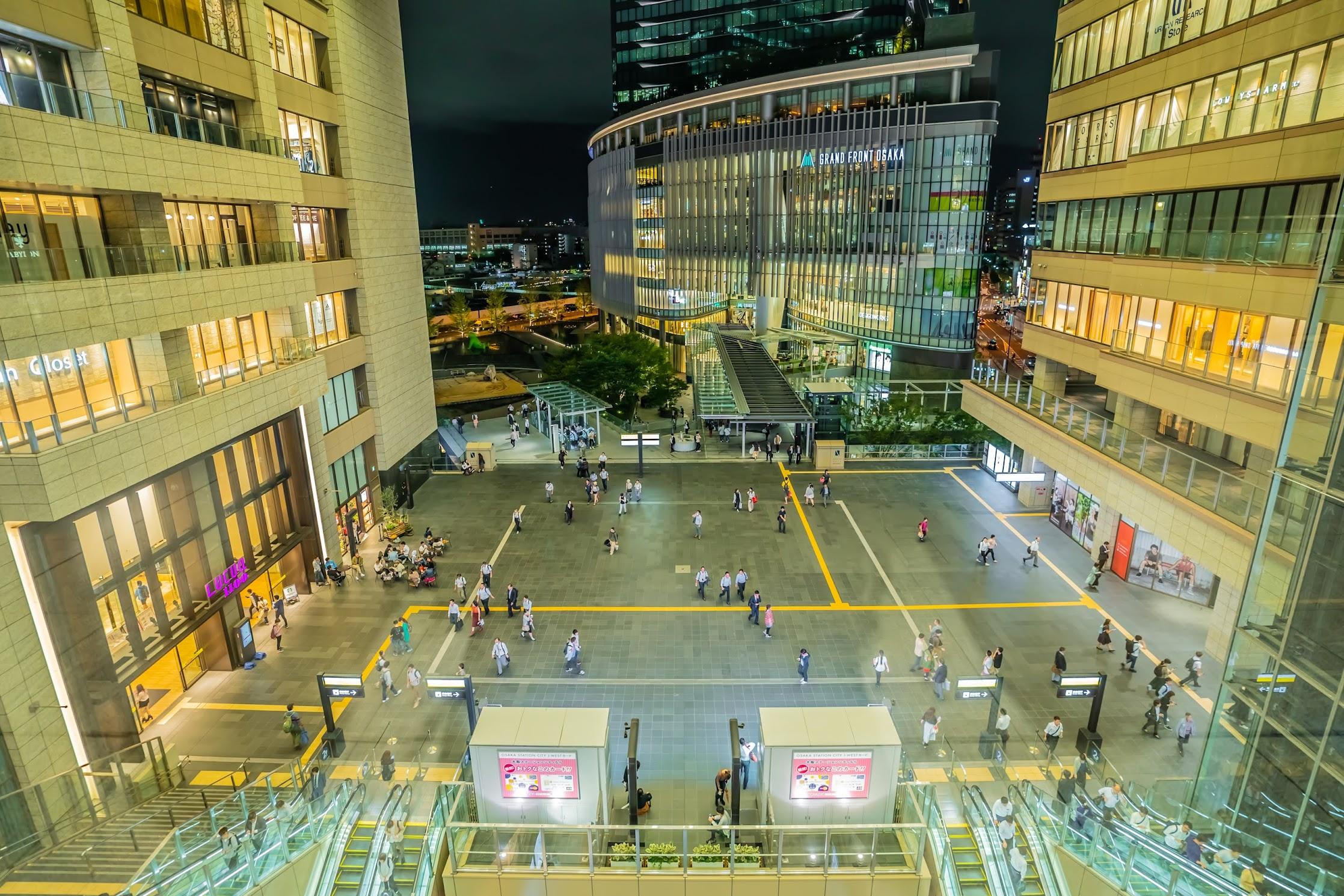 Osaka station city4