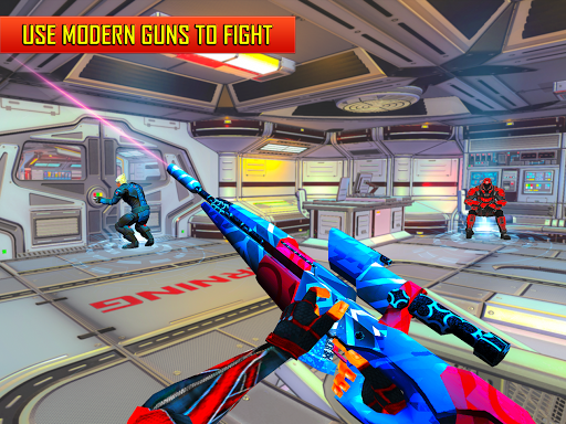 Robot Shooting FPS Counter War Terrorists Shooter 2.8 screenshots 17