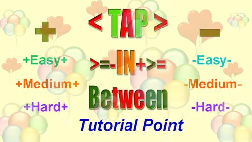 Tap between