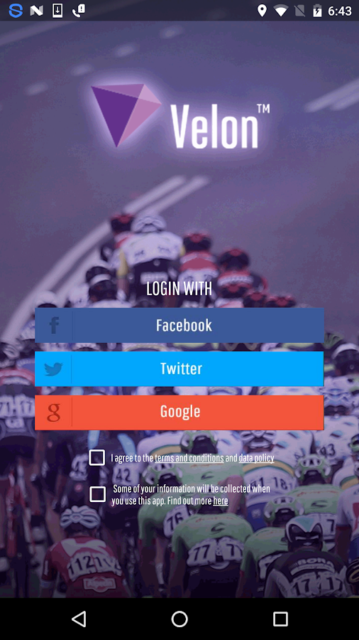 Velon Live Cycling- screenshot
