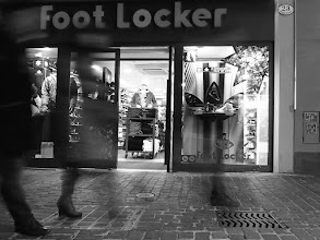 Photo: Foot Locker...  A Christmas Street Tour with +Thomas Leuthard in Luzern...