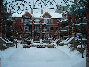 Photo: Apartment complex under the snow