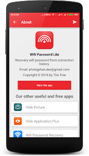 Wifi Password Recovery Lite - náhled