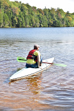 Photo: Kayaking Adam's Reservoir at Woodford State Park by Bill Steele