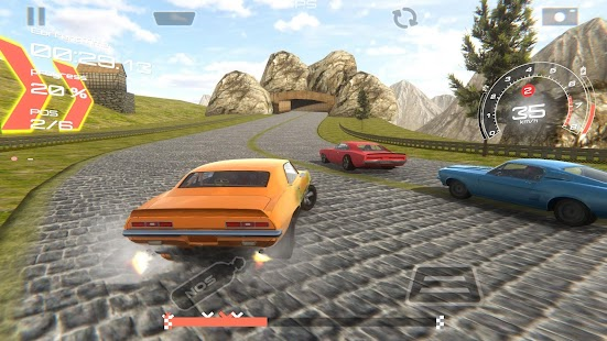 Speed Muscle Car Racing 3D - náhled